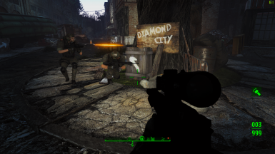 Protecting diamond city from abominations