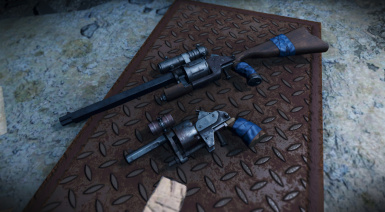 fallout 4 handmade revolver handmade revolver scopes at fallout 4 nexus mods and 9525