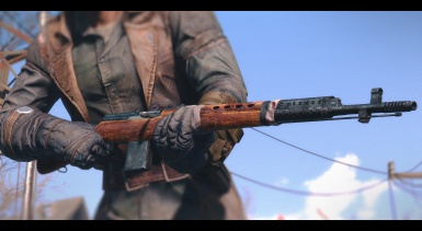 SVT-40 - Battle Worn