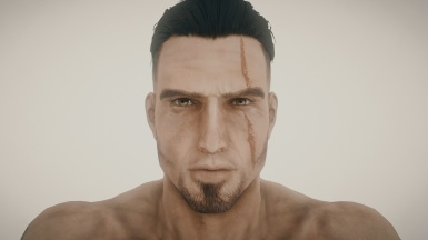 Gladio attempt missing hair and beard