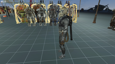 New Eversor Assassin outfit with the new Nanosuit