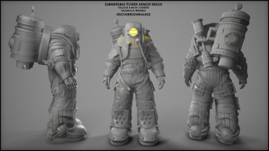 Submersible Power Armor Redux WIP