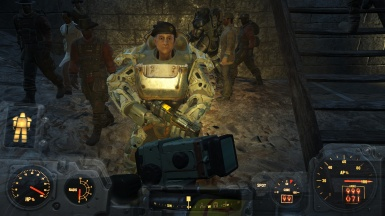 Ronnie in power armor