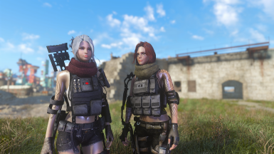 curie and piper