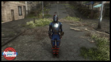 Fallout London -  Junkie Knight Armour