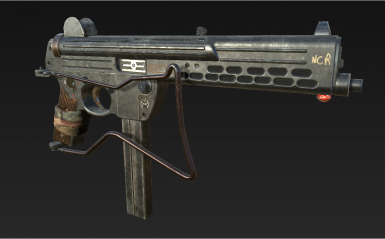 Porting my Walther SMG WIP