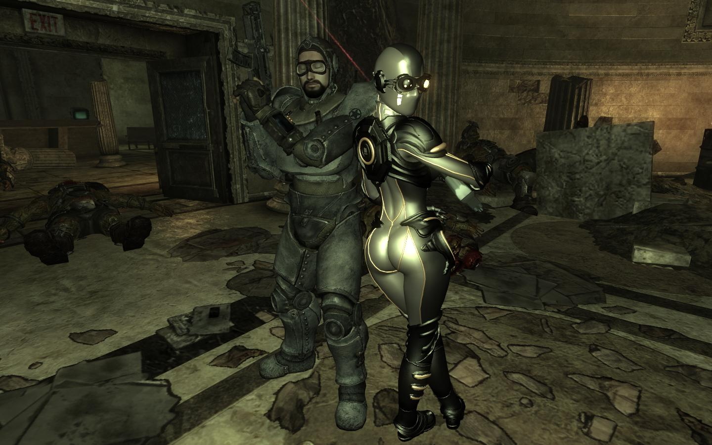 Fallout 3 naked girls moira brown sexy movie