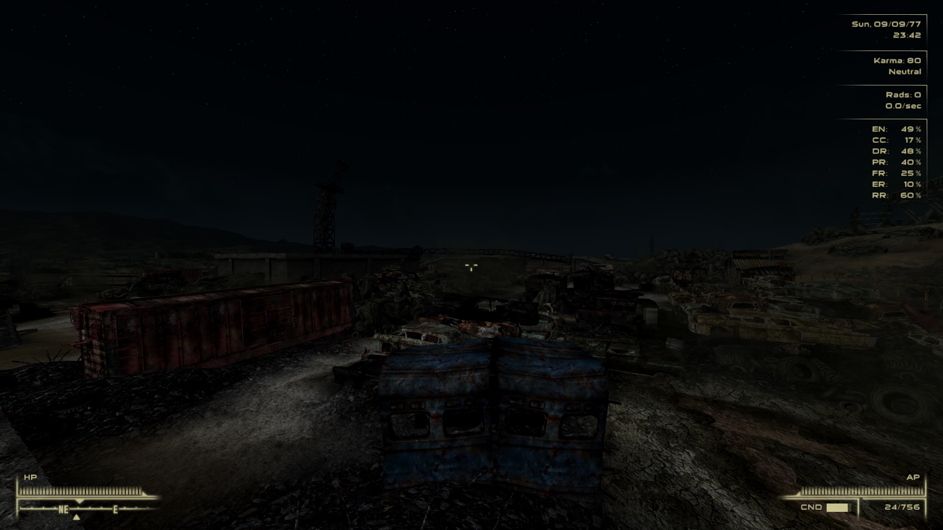 Moonlight over Scrapyard