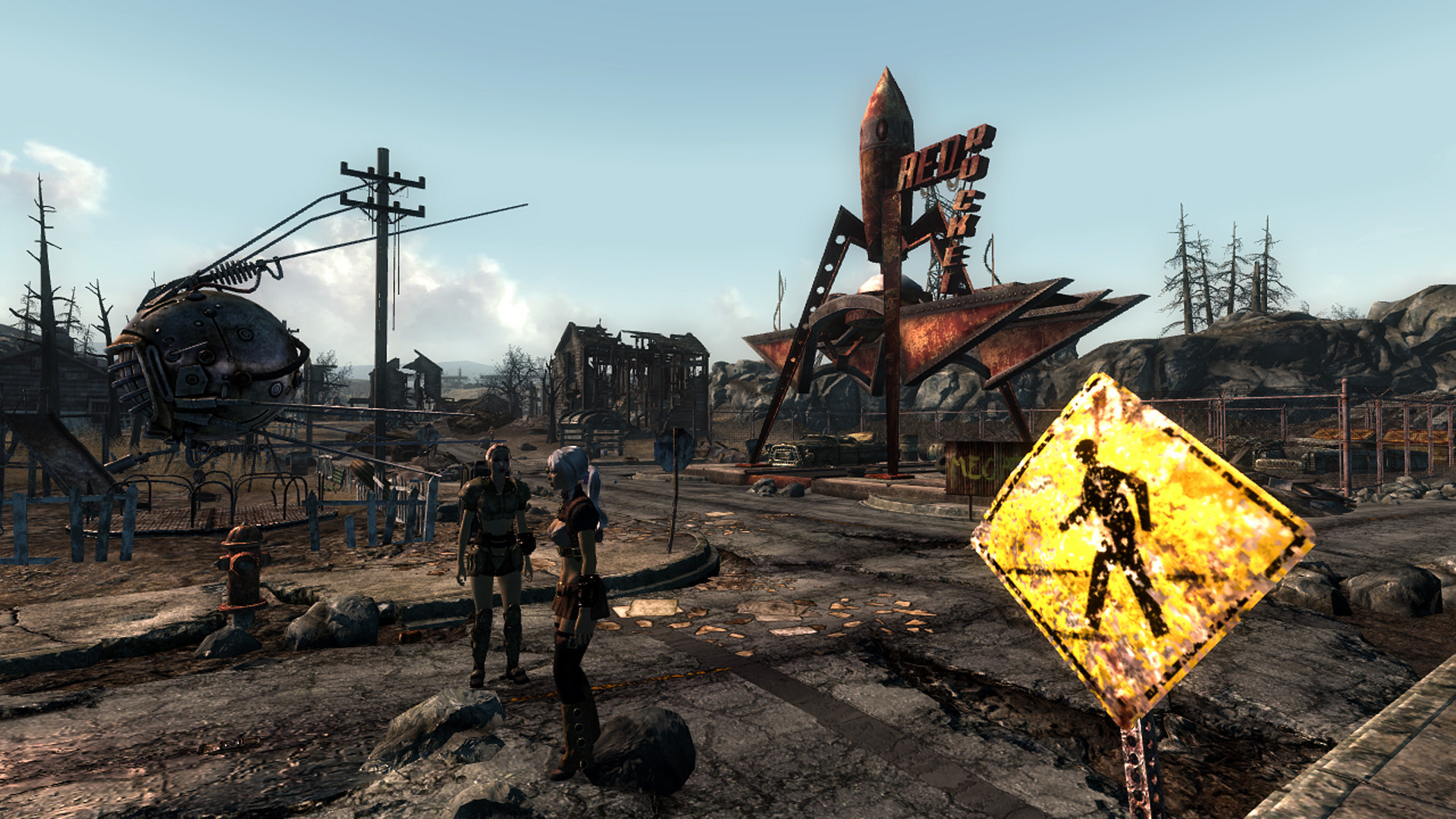 Fallout3 With Midhrastic Enb At Fallout3 Nexus Mods And Community