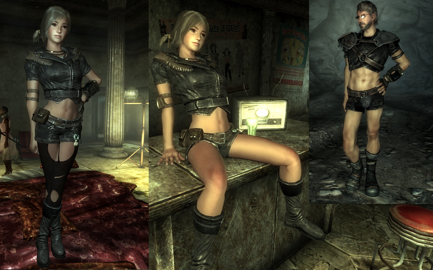 Fallout 3 nudity erotic movie