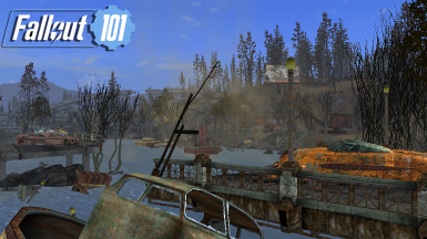 Fallout 101 TTW Day 52 Springvale Lake River Finished