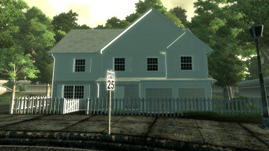 House Exterior done