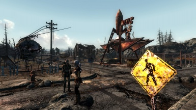 fallout3  with Midhrastic ENB