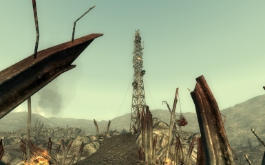 Broadcast Tower KT8 - Fallout 3 Rebirth