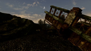 Evening in the Wastes