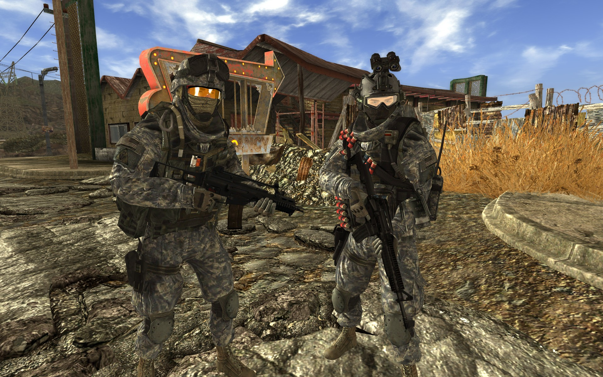 Two Man Team at Fallout New Vegas - mods and community