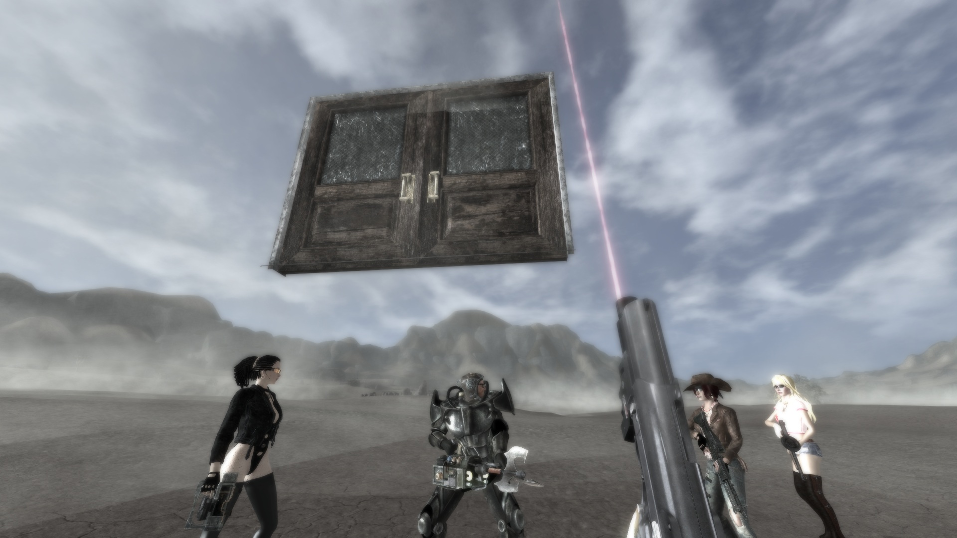 Floating Door WTF & Fallout New Vegas - mods and community