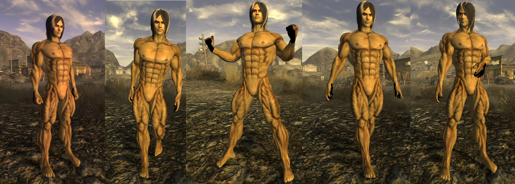 Fallout new vegas naked body adult comics