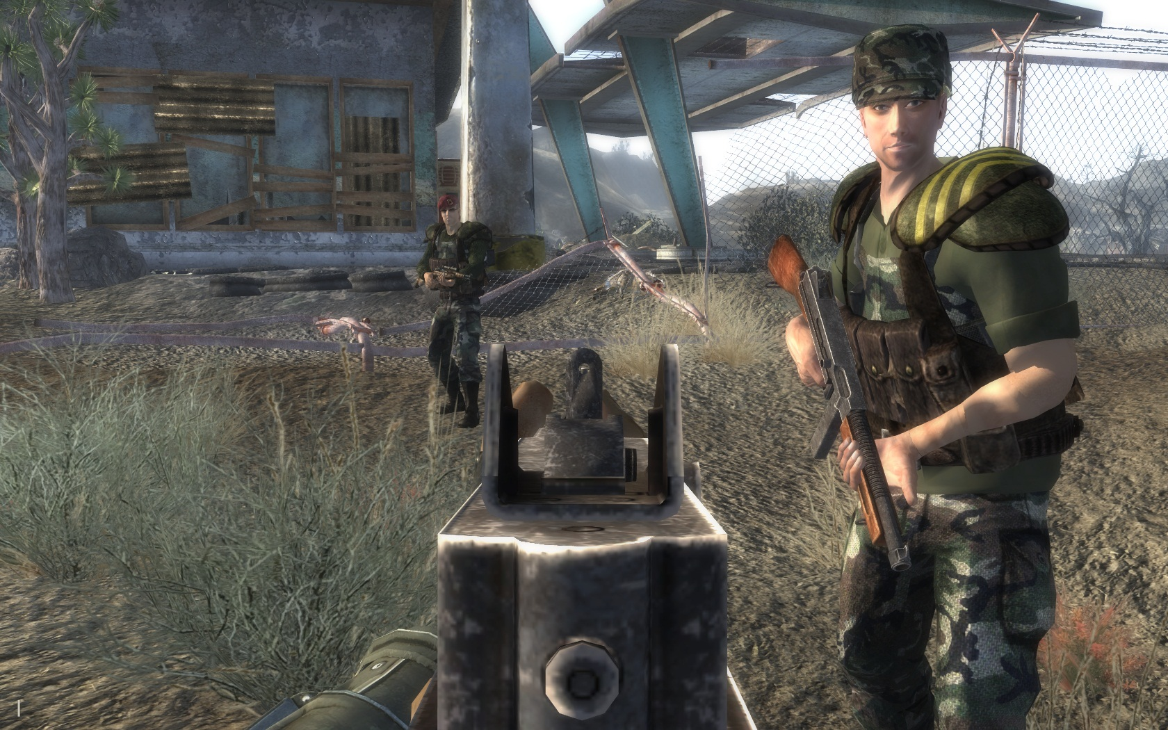 Thompson SMG at Fallout New Vegas - mods and community