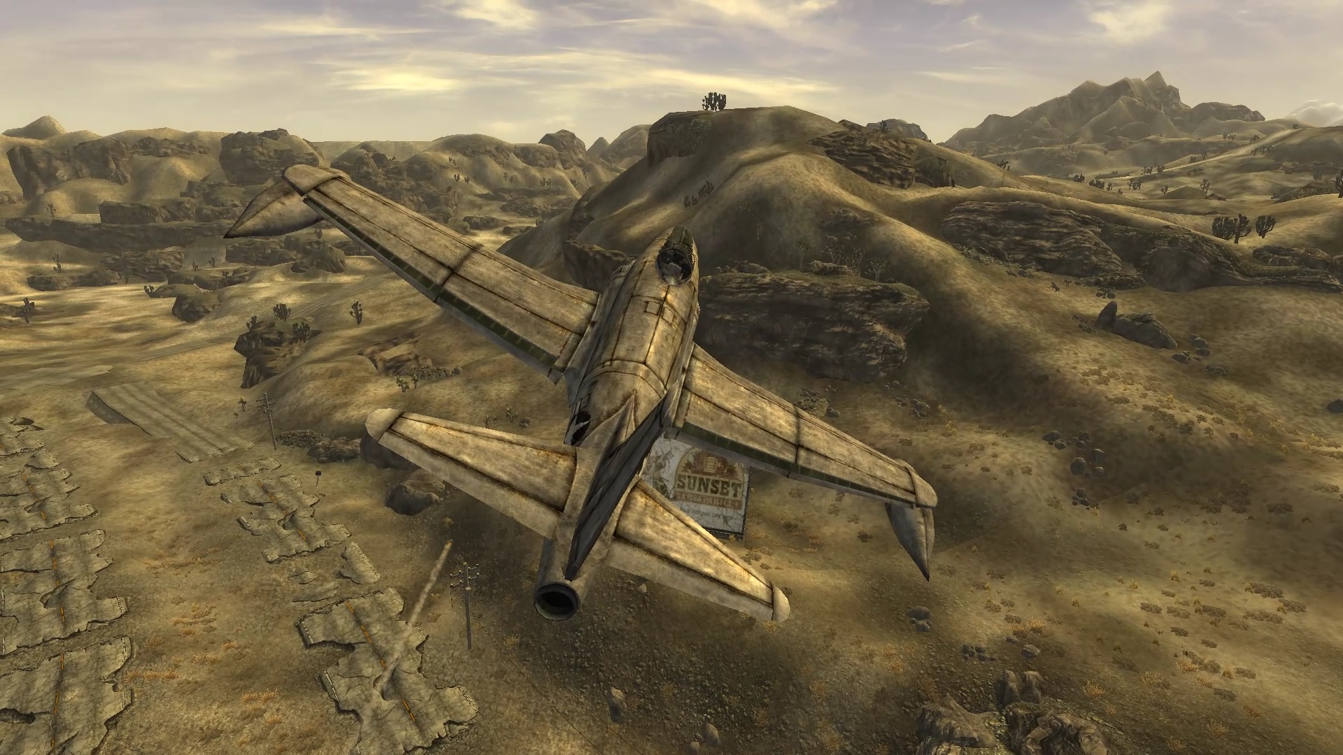 Plane Fighting Games >> Actually working Plane physics at Fallout New Vegas - mods ...