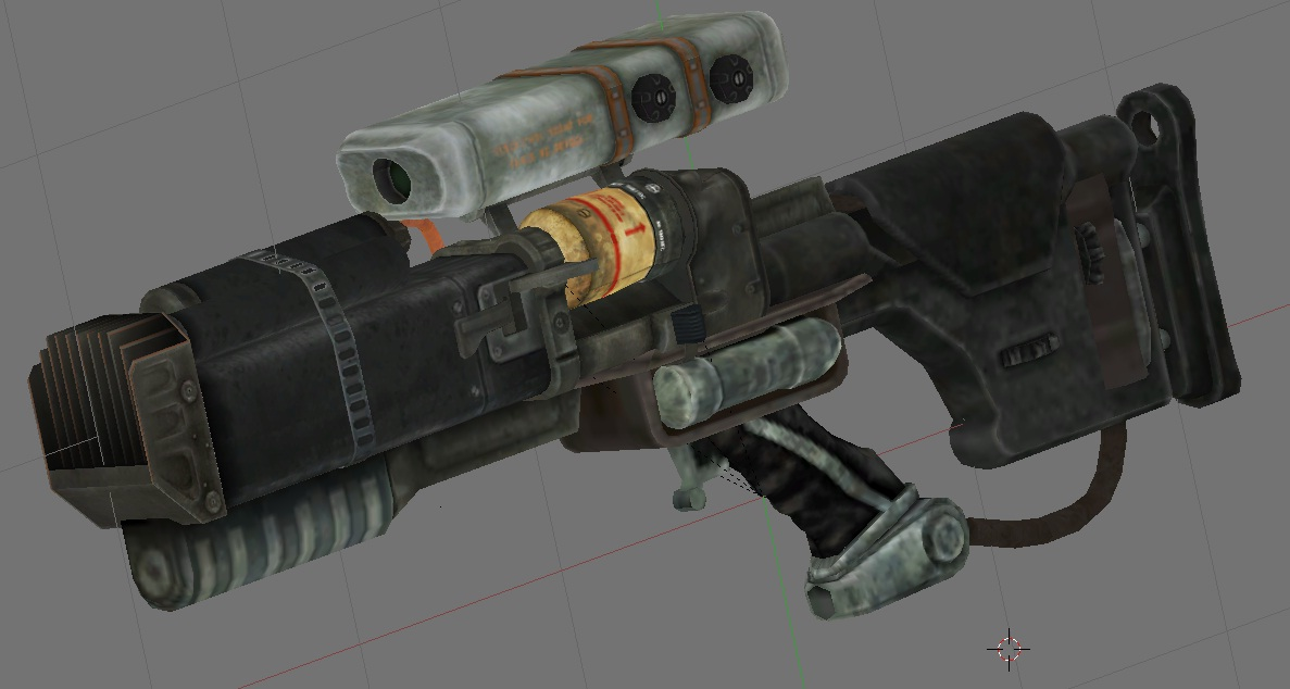 Fallout 3 Tri Beam Laser Rifle - New Images Beam