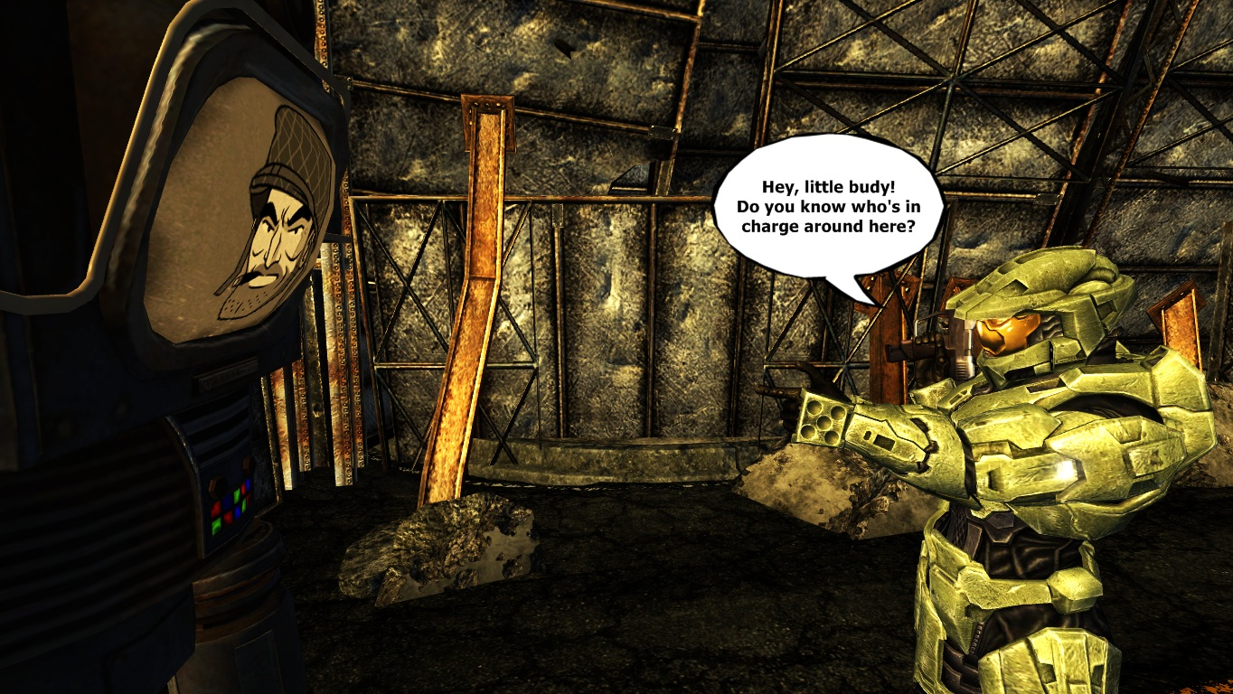 Fallout new vegas mods and community halo funny voltagebd Choice Image