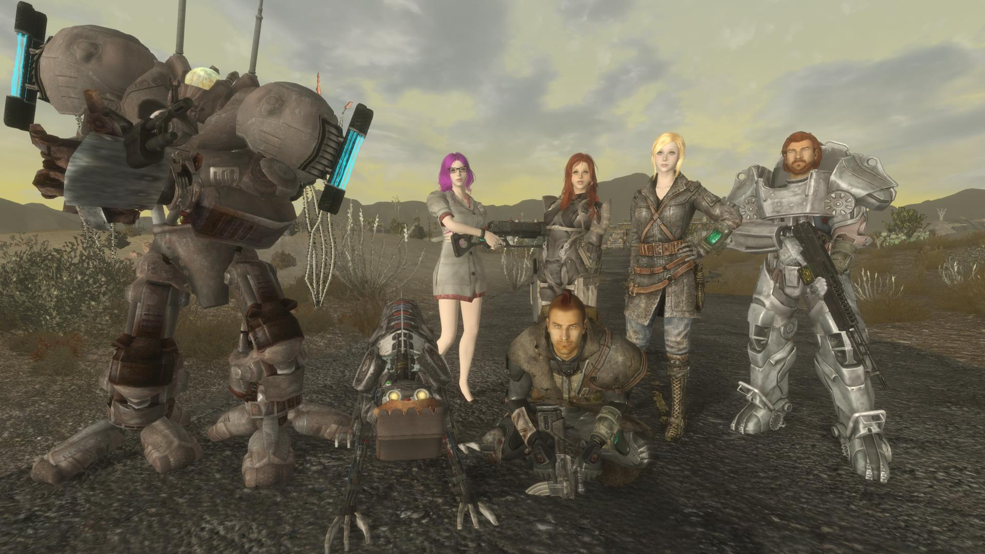 My Badass in New California at Fallout New Vegas - mods and