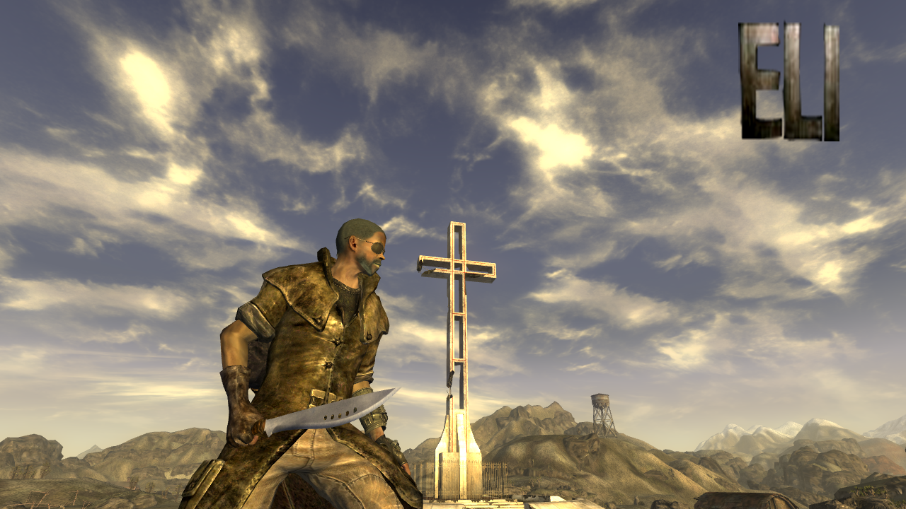 eli and cross at fallout new vegas