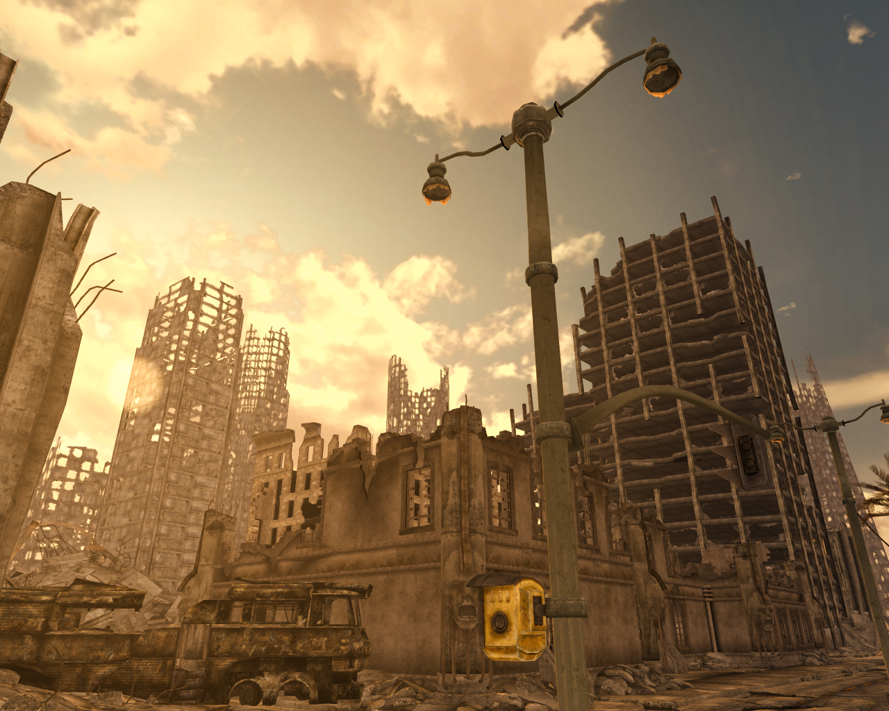 San francisco scrapers at fallout new vegas mods and community - Fallout new vegas skyline ...