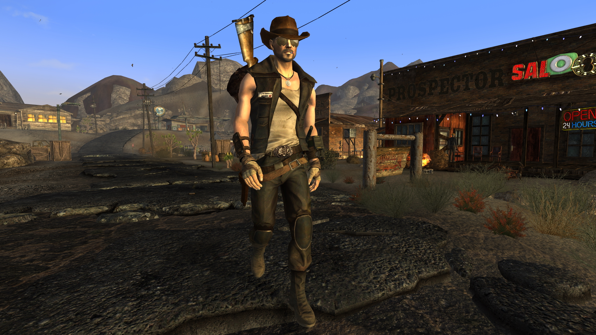 NCR Securitrons at Fallout New Vegas - mods and community