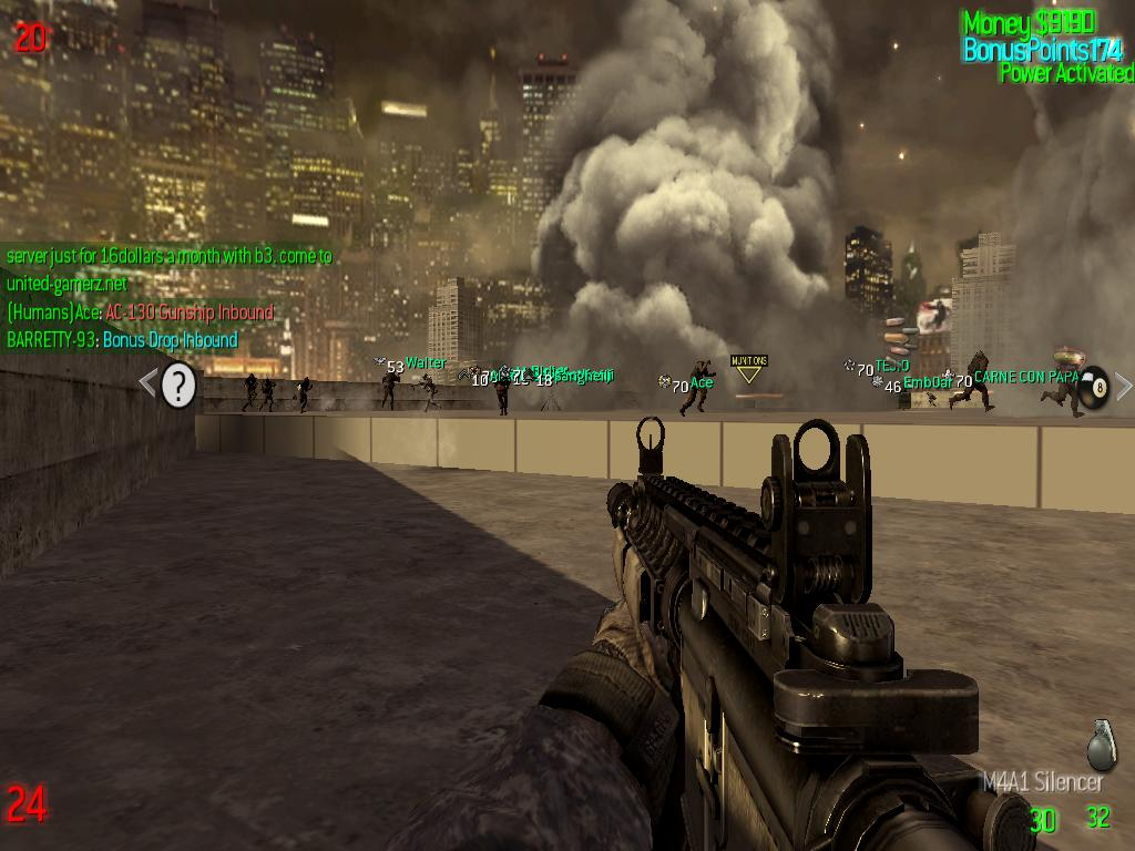 ZOMBIE MODS MW2 at Fallout New Vegas - mods and community