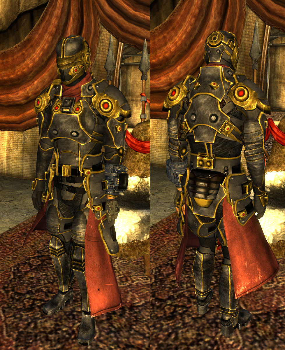Legion General Armor at Fallout New Vegas - mods and community Fallout 4 Nexus