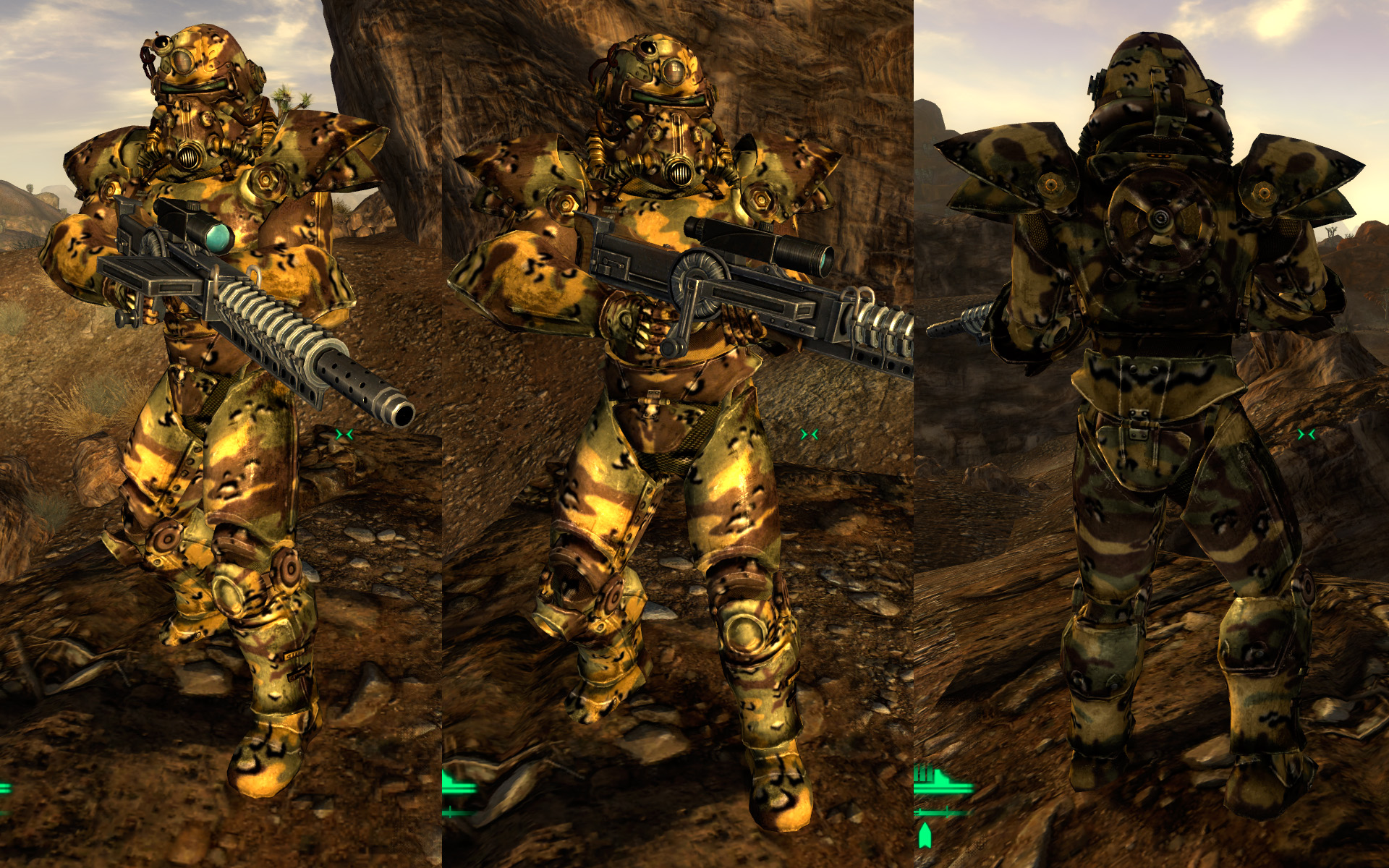 T-51b Power Armor Camo Retex Renual at Fallout New Vegas - mods and