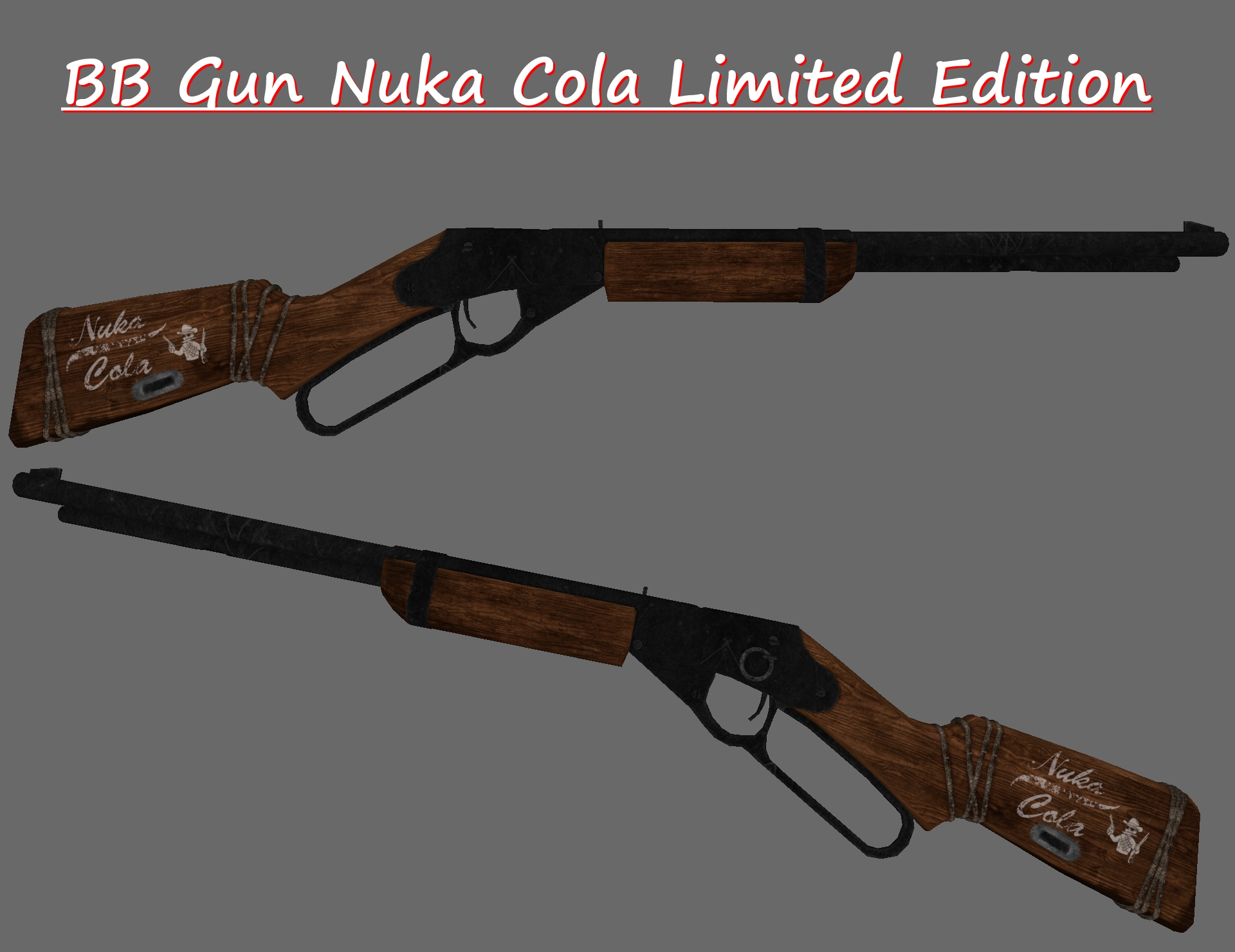 Nuka Cola Bb Gun Limited Edition Wip At Fallout New Vegas Mods And