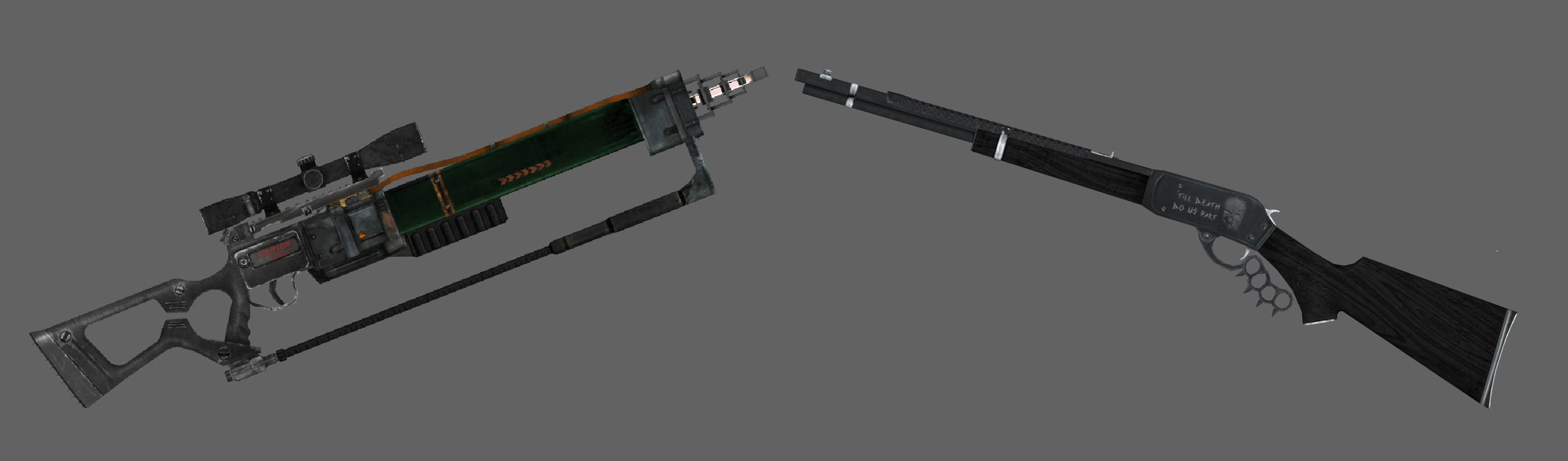 Upcoming mod Weapns for Fallout New Vegas