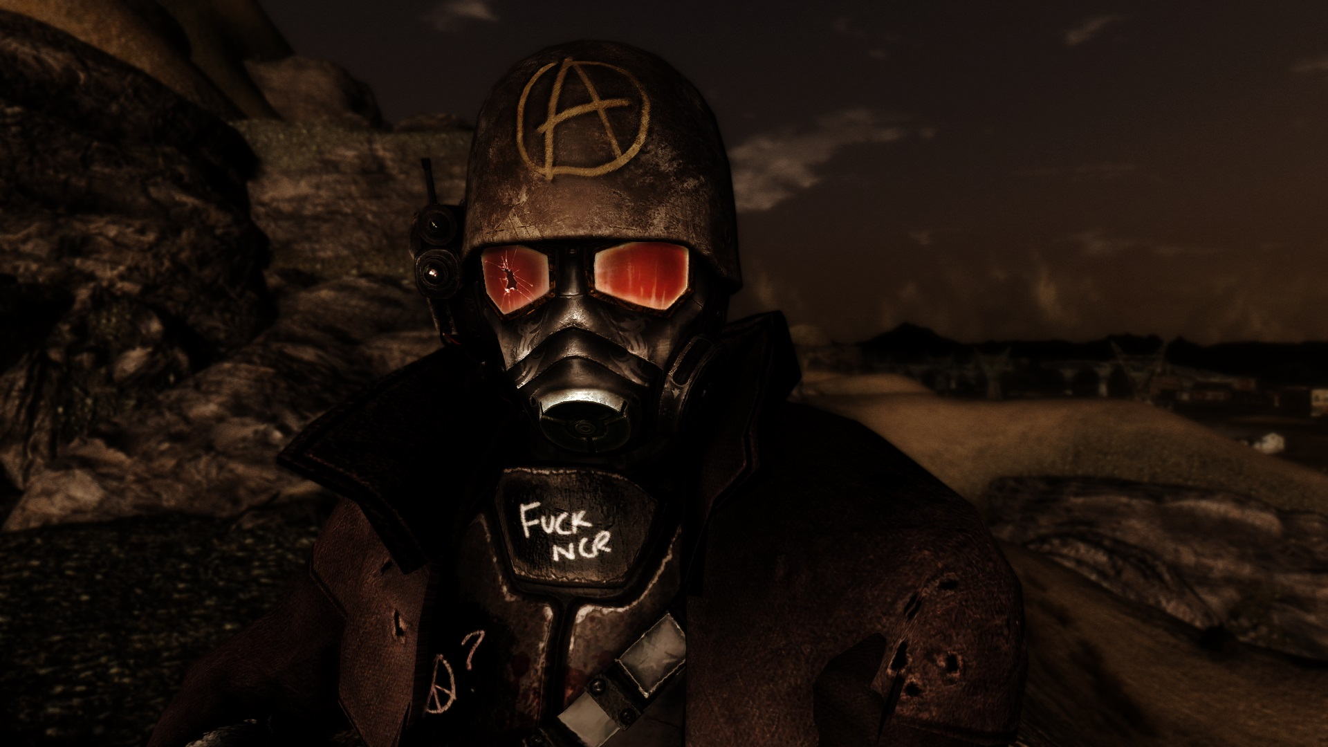 Defaced Ncr Ranger Armor At Fallout New Vegas Mods And Community