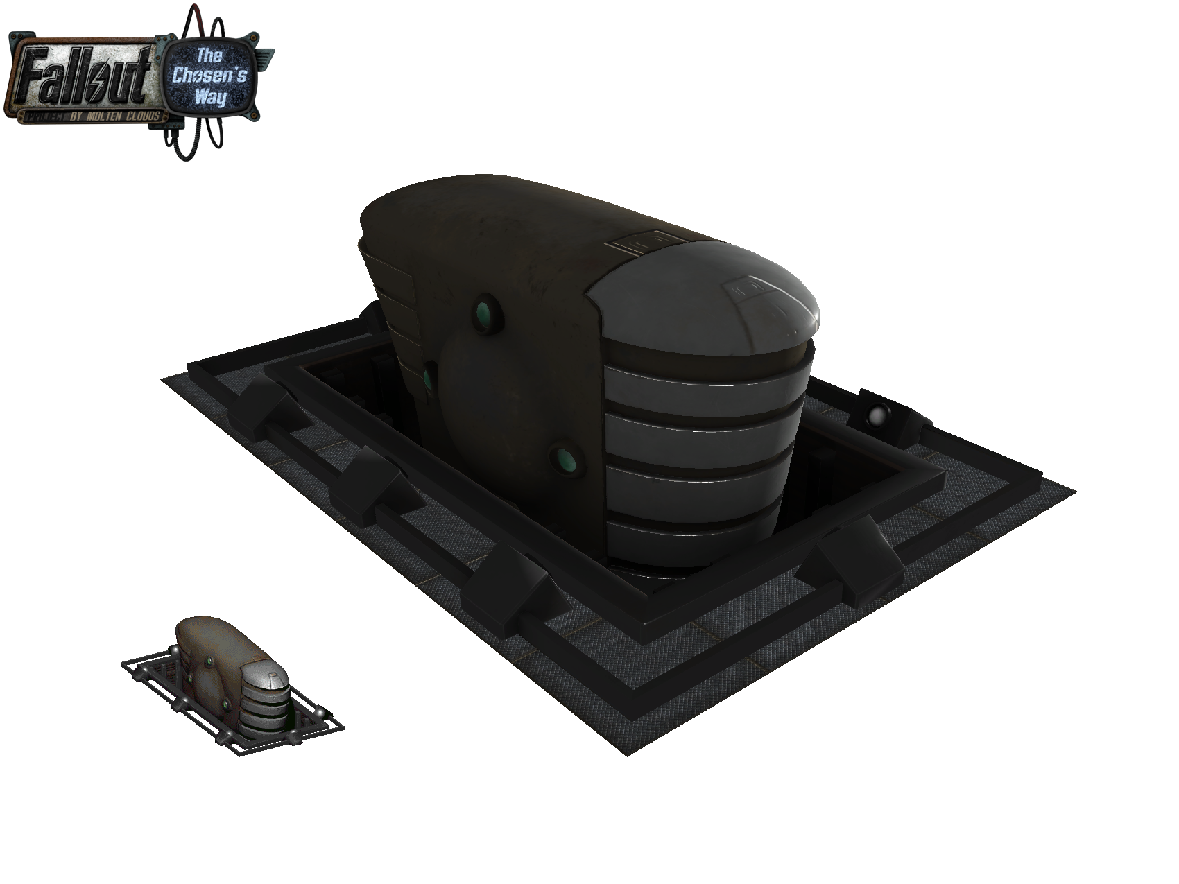 Military mainframe from Fallout 2