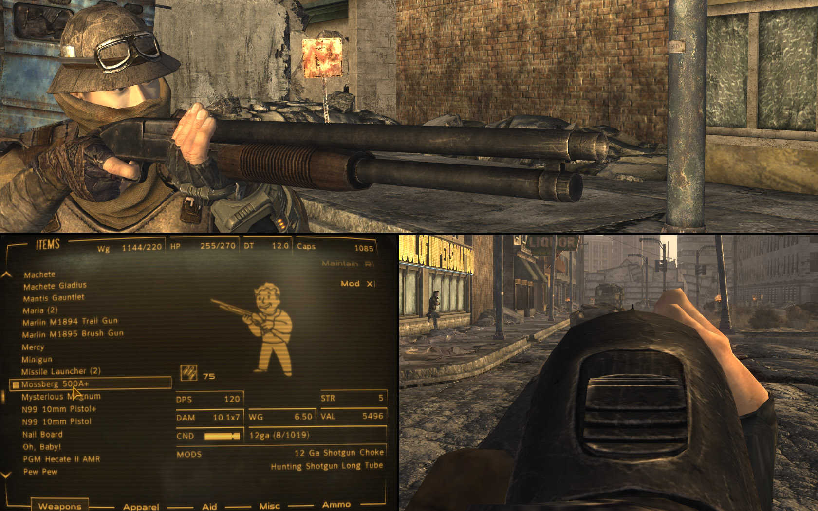 FOOK - Mossberg 500 at Fallout New Vegas - mods and community