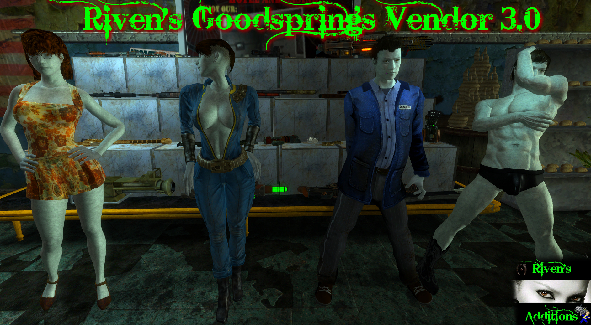 Rivens Vendor update is out at Fallout New Vegas - mods and