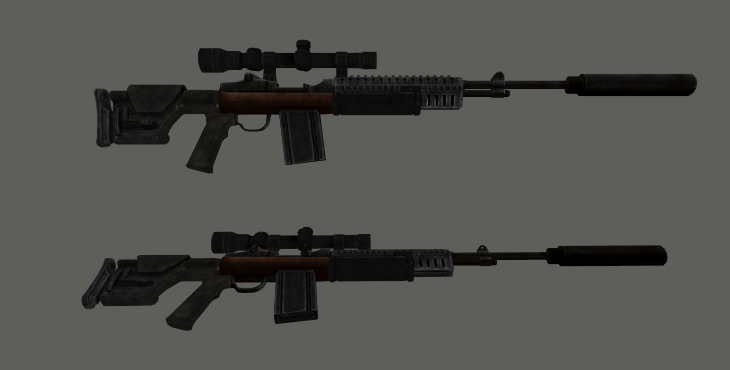 M39 EMR Work in Progress at Fallout New Vegas - mods and