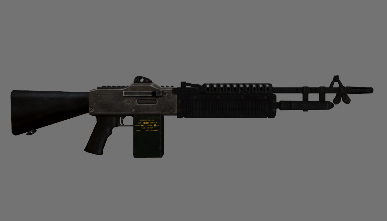 Stoner 63 wip at fallout new vegas mods and community stoner 63 wip altavistaventures Images