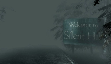 New Silent Hill Welcome Sign Texture