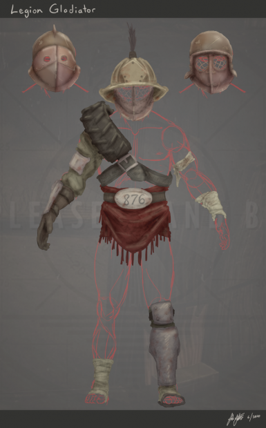 Legion Gladiator design