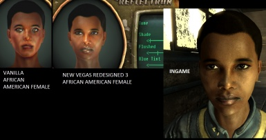 African American female - New Vegas Redesigned 3