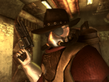 The old sci-fi cowgirl