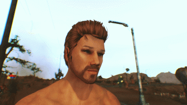 My attempt to make a good looking male face