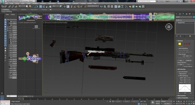 Hunting rifle remeshed