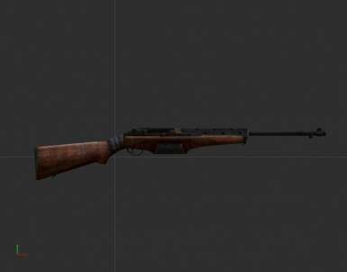 1941 Johnson Rifle WIP