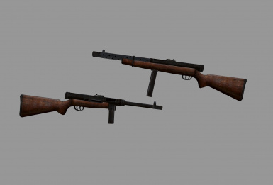 Beretta M38a and M38-42 SMGs