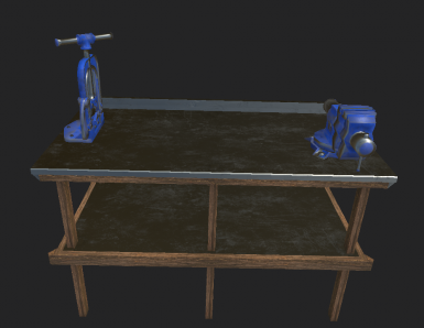 Workbench Retexture